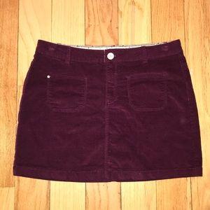 Zara Girls Corduroy Mini Skirt